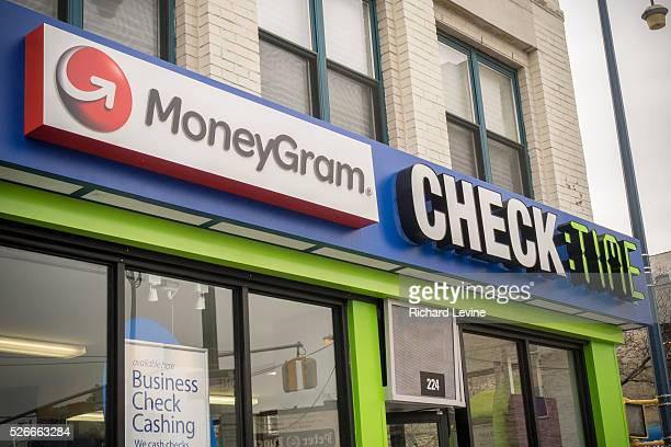 Exterior of the newly remodeled branch of Check:Time in the Williamsburg neighborhood of Brooklyn in New York on Thursday, January 14, 2016. The six...
