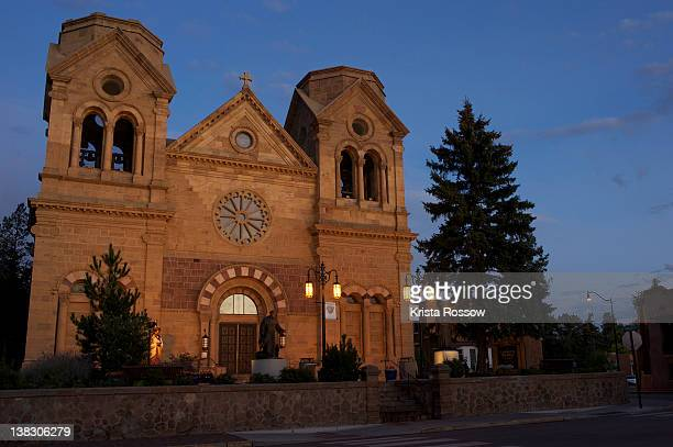 Santa Fe, St. Francis Cathedral Basilica, New Mexico, United States.