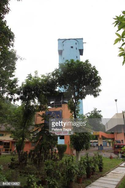 JADUGODA JHARKAHND INDIA SEPTEMBER 02 Exterior of the uranium mine on the surface of the earth India has inaugurated its deepest underground lab...