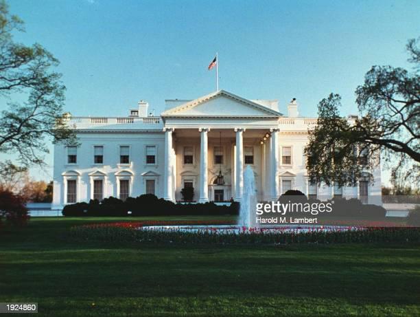 Exterior of the White House, Washington, D.C., undated.