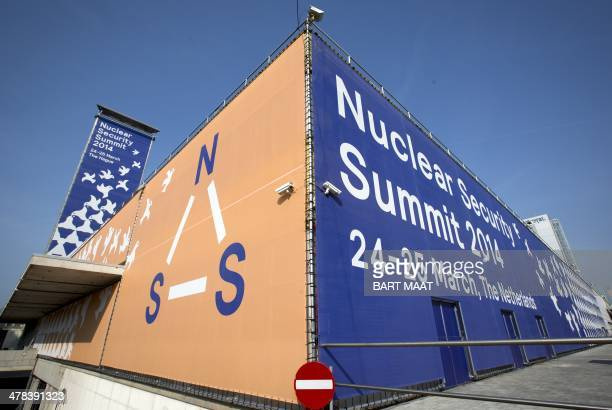 Exterior of the World Forum, the location which will host the Nuclear Security Summit , in The Hague, The Netherlands, on March 13, 2014. On 24 and...