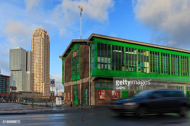 exterior of theatre Walhalla in Rotterdam