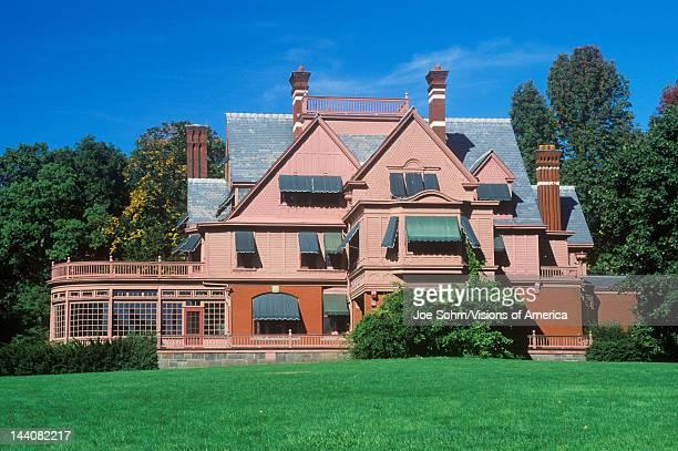 Exterior of Thomas Edison home Edison National Park West Orange NJ