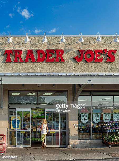 Exterior of Trader Joe's specialty food store