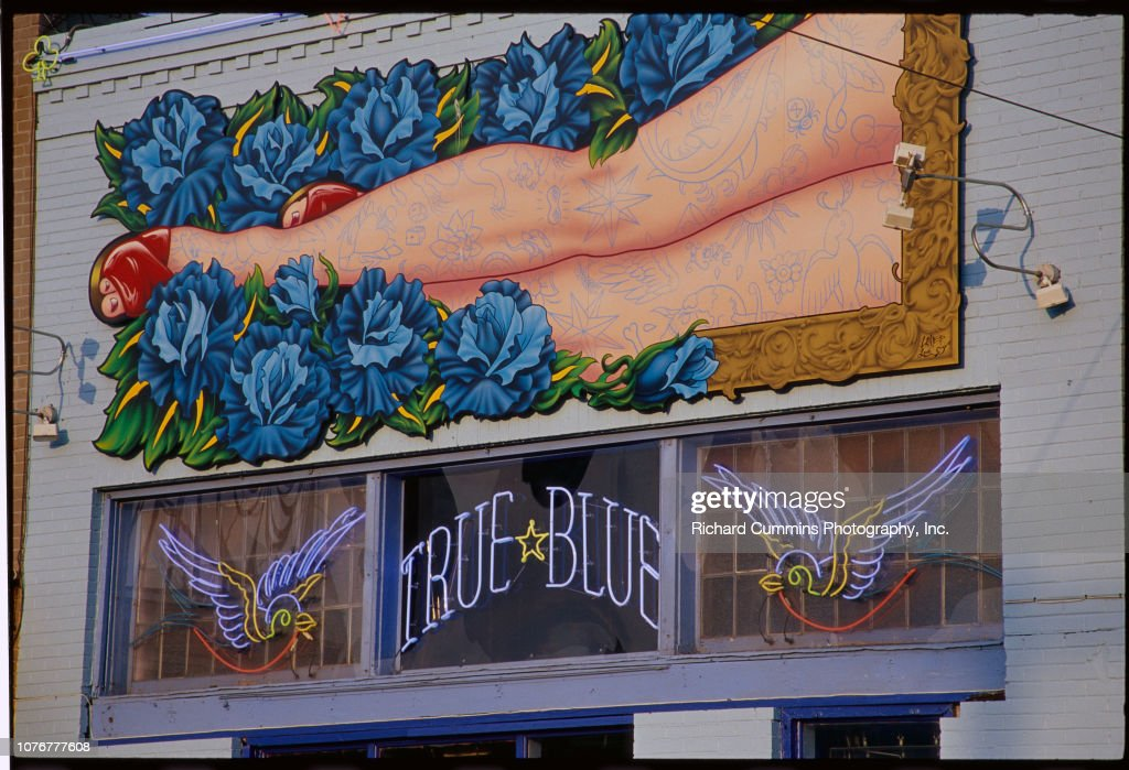 Exterior Of True Blue Tattoo Parlor News Photo Getty Images