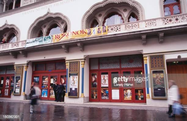 Exterior of Urana national Cinema.
