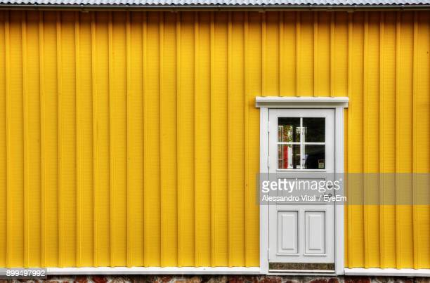 Exterior Of Yellow House