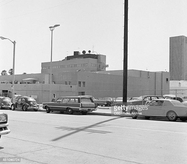 Exterior photo of Columbia Square located at 6121 Sunset Boulevard in Hollywood Los Angeles California home of CBS's Los Angeles radio and television...