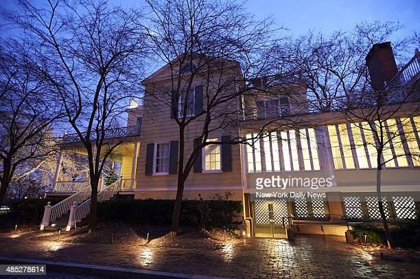 Exterior photo of Gracie Mansion on Wednesday Dec 11 2013 in New York NY Mayorelect Bill de Blasio said Wednesday he is moving to Gracie Mansion De...