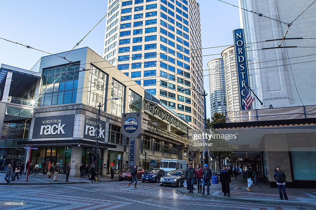 Exterior Photos Of Nordstrom Rack In Downtown Seattle On November 12 2017
