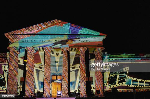 Exterior shot of the Art Gallery of NSW hosting the after party for the Sydney Film Festival on June 10 2005 in Sydney Australia