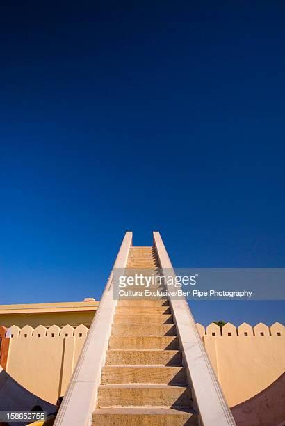 Exterior steps of Jantar Mantar