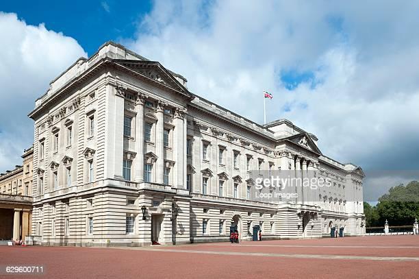 Exterior view of Buckingham Palace Buckingham Palace England