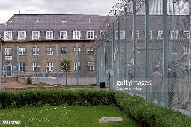Exterior view of C wing at HMP Downview Surrey United Kingdom HM Prison Downview is a women's closed category prison Downview is located on the...