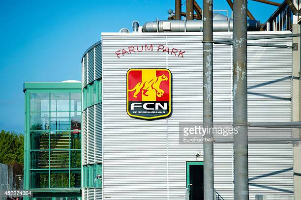 Exterior view of Farum Park before the Superliga football match between FC Nordsjaelland and Aalborg BK in Farum Park Stadium on May 7 2014 in Farum...