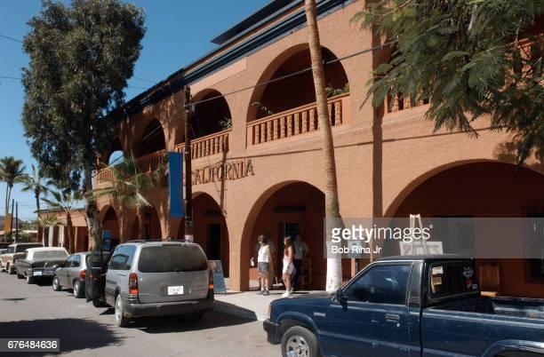 Exterior view of Hotel California Todos Santos Baja California Mexico February 16 2003