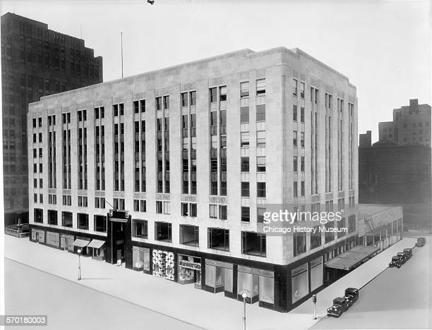 Exterior view of Michigan Square Building located at 540 North Michigan Avenue Chicago Illinois June 20 1930
