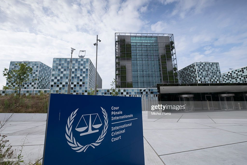 Exterior Views Of New International Criminal Court Building In The Hague : News Photo