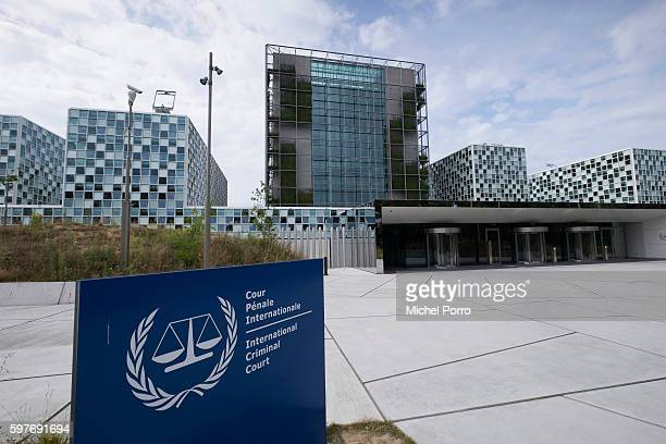 Exterior View of new International Criminal Court building in The Hague on July 30 2016 in The Hague The Netherlands
