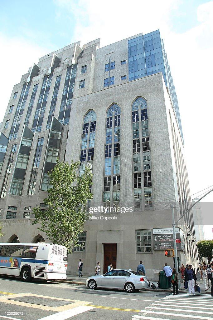 Exterior View Of New York Presbyterian Hospital Were Charlie Sheen