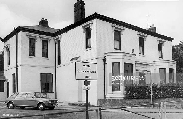 Exterior view of Norton house opposite Swanswell Pool in Coventry after being opened as a day centre for the homeless of Coventry 25th May 1978