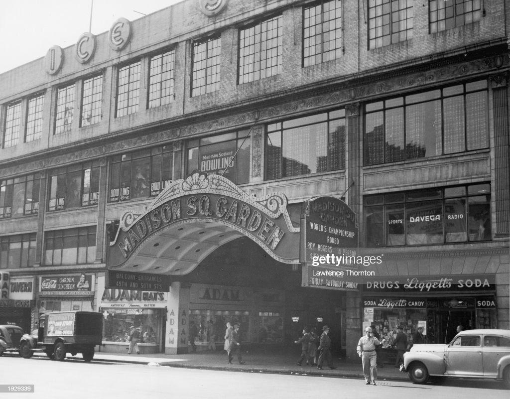 Exterior View Of Old Madison Square Garden New York City New York News Photo Getty Images