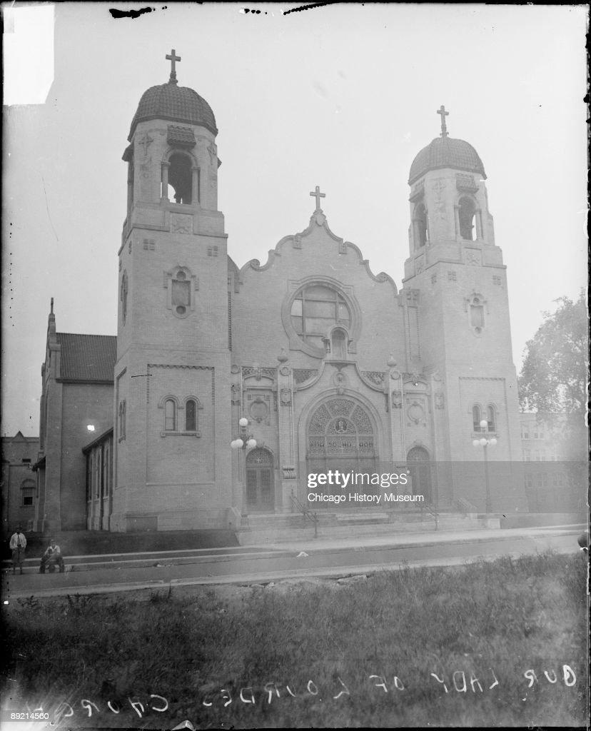Our Lady Of Lourdes Church : News Photo