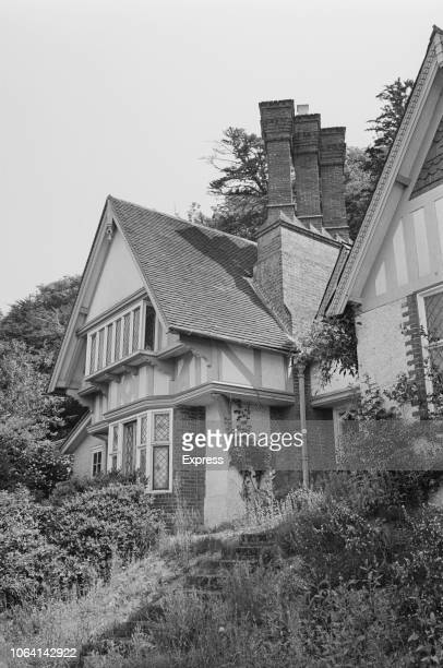 Exterior view of Spring Cottage home of osteopath Stephen Ward and located on the banks of the River Thames in the grounds of the Cliveden Estate in...