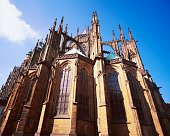 Exterior View of St. Vitus Cathedral