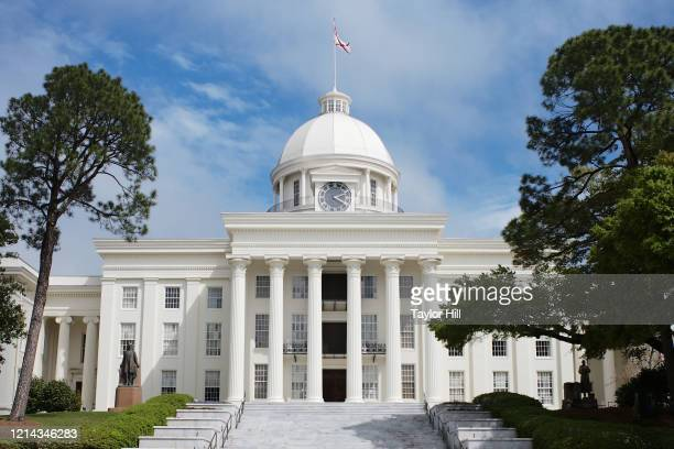 Exterior view of the Alabama State Capitol on March 22, 2020 in Montgomery, Alabama.