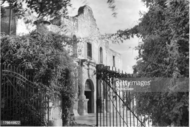 Exterior view of The Alamo San Antonio Texas September 16 1936