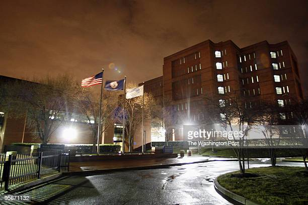 Exterior view of the Alexandria Detention Center where Alexandria Deputy Sheriff Duwayne Morris works