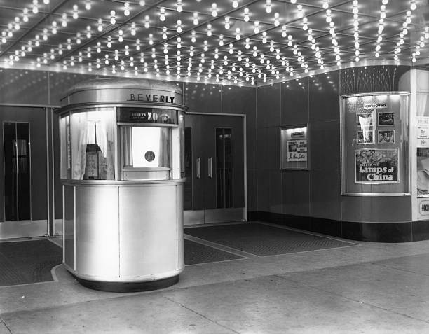 Ticket Booth At Beverly Theater