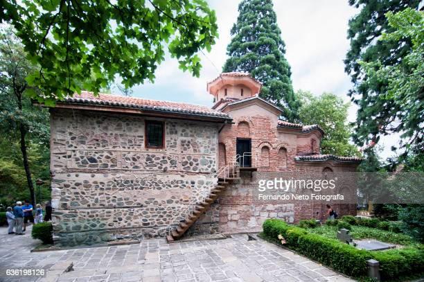 exterior view of the boyana medieval church. sofia, bulgaria. - sofia stock pictures, royalty-free photos & images