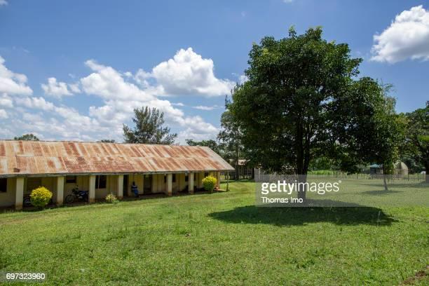 Exterior view of the Bukura Agricultural Training Center in Kakamega County on May 16 2017 in Kakamega County Kenya