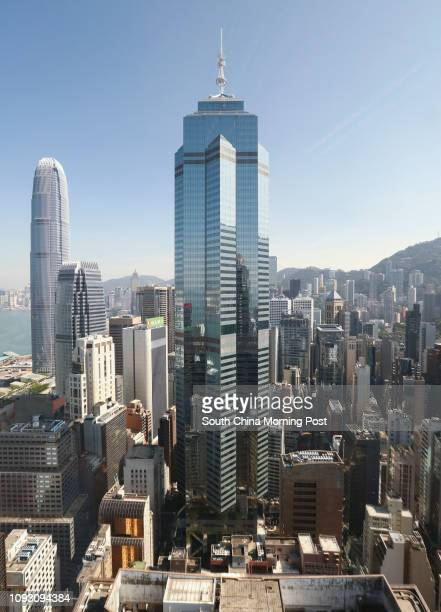 Exterior view of The Center building in Central. CHMT Peaceful Development Asia Property has agreedd to pay HK$40.2 billion for the building. 02NOV17...