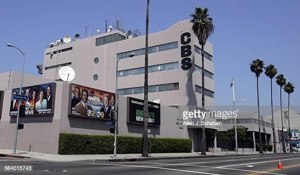 Exterior view of the Columbia Square broadcast center in Hollywood that is home to CBS and KNX 1070 Tuesday August 9 2005 After 67 years at Columbia...