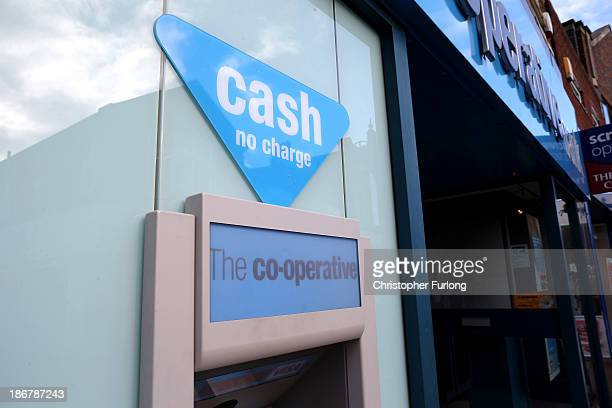 Exterior view of the Crewe branch of the Cooperative Bank on November 4 2013 in Crewe United Kingdom The Cooperative Bank has announced plans to cut...