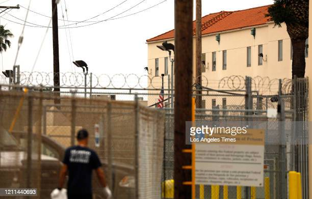 Exterior view of the federal prison at Terminal Island in San Pedro Nearly half of the inmates at the federal prison at Terminal Island in San Pedro...