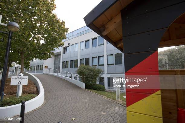 Exterior view of the headquarters of the Command Cyber and Informationroom of the Bundeswehr in Bonn
