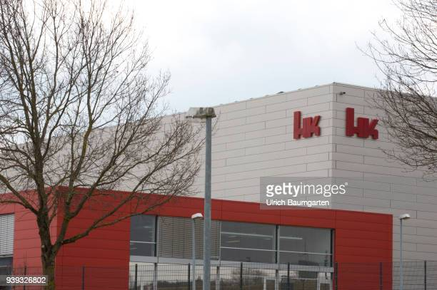 Exterior view of the headquarters of the weapons manufacturer Heckler Koch in Oberndorf