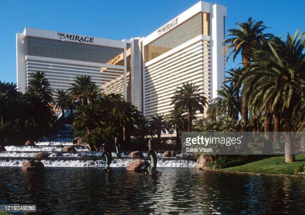 Exterior view of the Mirage Hotel on December 28, 1995 in Las Vegas, Nevada.