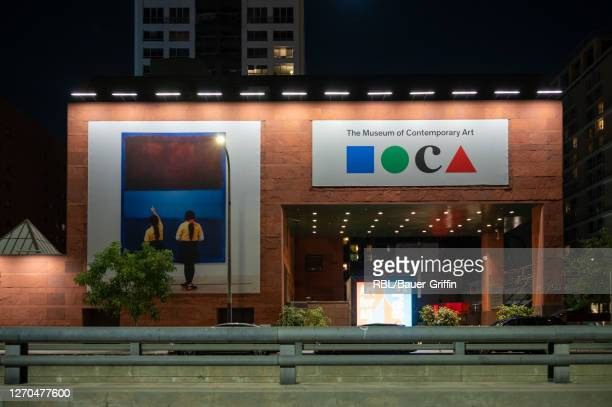 Exterior view of The Museum of Contemporary Art is seen on September 02, 2020 in Los Angeles, California.