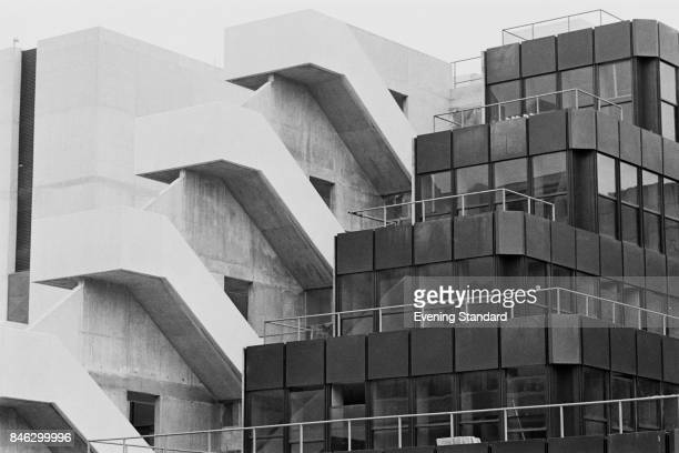 Exterior view of the new extension of the University of London 20 Bedford Way building house of the Institute of Education designed by English...