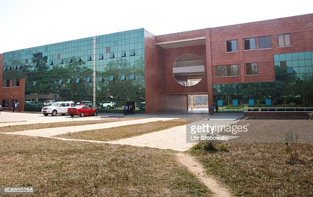 Exterior view of the Polytechnical Regional Center IPRC on August 11 2016 in Kigali Rwanda