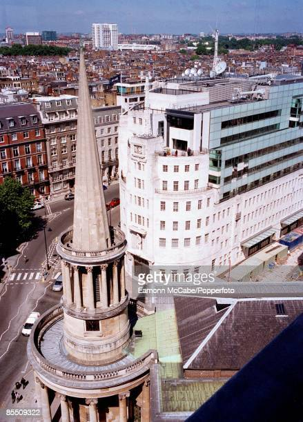 Photo of BBC BROADCASTING HOUSE external shot of the newly refurbished building