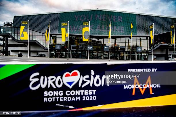 Exterior view of the Rotterdam Ahoy the official venue for the planned Eurovision Song Contest 2020 This year's Eurovision Song Contest has been...
