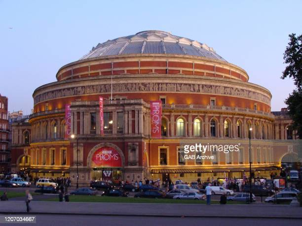 Exterior view of the Royal Albert Hall, London, 13th September 2008.