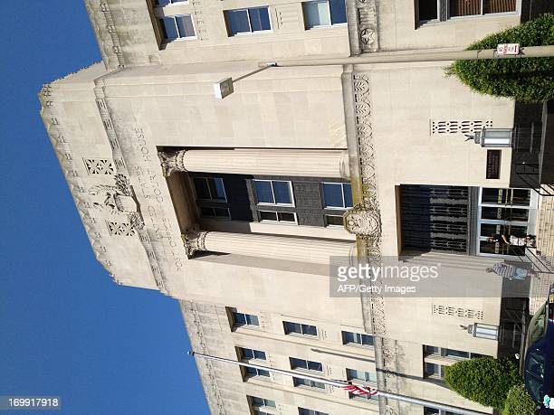 Exterior view of the US federal court house on June 4 2013 in Norfolk Virginia where three Somalis are on trial for the deaths of four Americans on a...