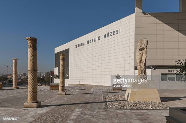 Exterior view of The Zeugma Mosaic Museum,Gaziantep,Turkey